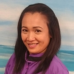 Maria who is a dental assistant at Smile Surfers in Sumner