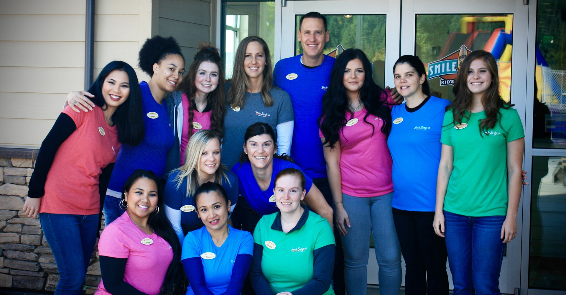 The Sumner dental team at Smile Surfers